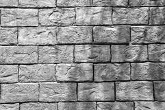 Bakgrund av textur för tegelstenvägg med skugga Royaltyfri Fotografi