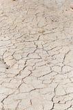 Bakgrund av torkad lera Arkivbilder