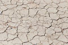 Bakgrund av torkad lera Royaltyfri Foto