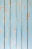 Bakgrund av trä för färg för himmelblått Arkivbilder