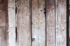Bakgrund av träbrädeväggen Arkivfoto