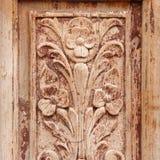 bakgrund av trätextur för gammal grunge del av den antika gamla dörren För fotografiproduktbakgrund Royaltyfri Fotografi