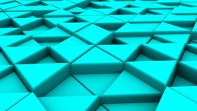 Bakgrund av trianglar lager videofilmer