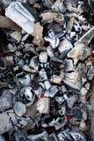 Bakgrund av varma kol arkivfoto