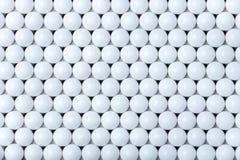 Bakgrund av vita bollar airsoft 6mm Royaltyfri Bild