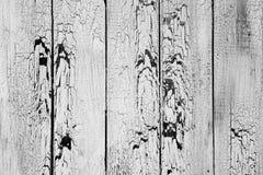 Bakgrund av vita gamla slitna bräden Royaltyfria Foton