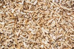 Bakgrund av wood sågspån Arkivbild