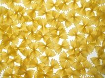 bakgrund böjer pasta Royaltyfri Fotografi