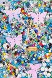 bakgrund beads sequins Royaltyfri Bild