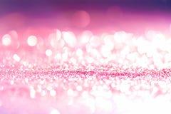 bakgrund blänker rosa färger och lilor Royaltyfri Foto