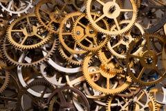 Cogwheelsbakgrund Arkivbilder