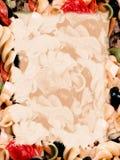 bakgrund bleknar pasta royaltyfri illustrationer