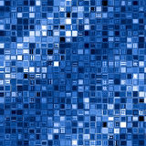 bakgrund blockerar den blåa fyrkanten royaltyfri illustrationer