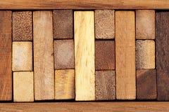 bakgrund blockerar trä Fotografering för Bildbyråer