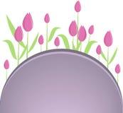 bakgrund blommar illustrationvektorn Royaltyfri Foto