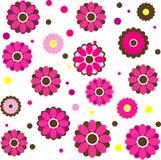 bakgrund blommar illustrationvektorn Royaltyfria Foton