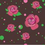 bakgrund blommar illustrationvektorn Royaltyfri Fotografi