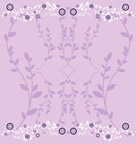bakgrund blommar vektorn Royaltyfri Fotografi