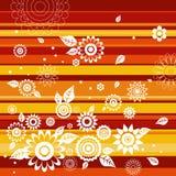 bakgrund blommar vektorn vektor illustrationer