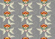 bakgrund blommar wallpaperen Royaltyfria Foton