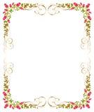 bakgrund blommar white Arkivbilder