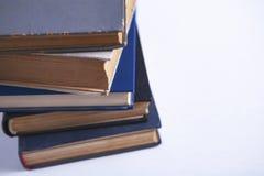 bakgrund books white arkivbilder