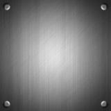 bakgrund borstad effektmetallyttersida Arkivfoto