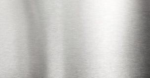 bakgrund borstad metall Arkivbilder