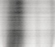 bakgrund borstad metall Arkivbild