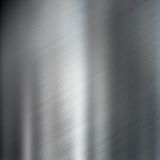 bakgrund borstad metallståltextur Royaltyfri Foto