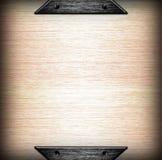 bakgrund borstade mallen för metallplattan Royaltyfri Foto