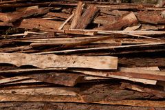Bakgrund bräden staplar trä Royaltyfri Fotografi