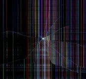 bakgrund bruten teknologi Arkivbild