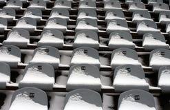 bakgrund chairs stadion Royaltyfri Fotografi