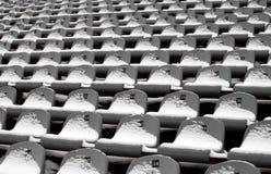 bakgrund chairs stadion Arkivfoto