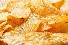 bakgrund chips bildpotatisen royaltyfria bilder