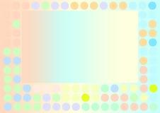 bakgrund cirklar färg Royaltyfri Fotografi