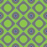 bakgrund cirklar fyrkanter Arkivfoto