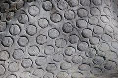 bakgrund cirklar grå textur Arkivfoto