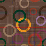 Bakgrund. Cirklar och linjer. Royaltyfri Fotografi