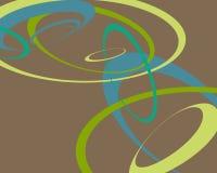 bakgrund cirklar retro Arkivfoton