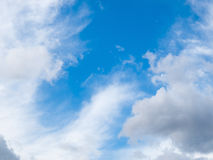 1 bakgrund clouds den molniga skyen Arkivbilder