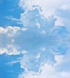 1 bakgrund clouds den molniga skyen Royaltyfri Fotografi