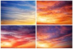 1 bakgrund clouds den molniga skyen Arkivfoto