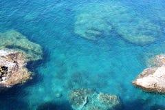 bakgrund colors havet Royaltyfri Foto