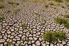 bakgrund cracked jord Arkivfoton