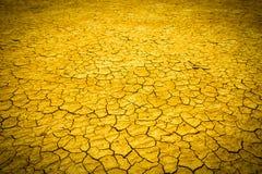 bakgrund cracked jord Royaltyfri Fotografi