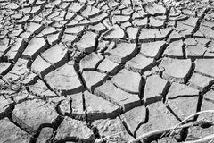 bakgrund cracked jordtextur Salta ökensprickor, torr jord A Royaltyfri Foto