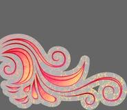 bakgrund cranied blom- Arkivfoto