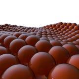bakgrund 3d av bollar Arkivfoton